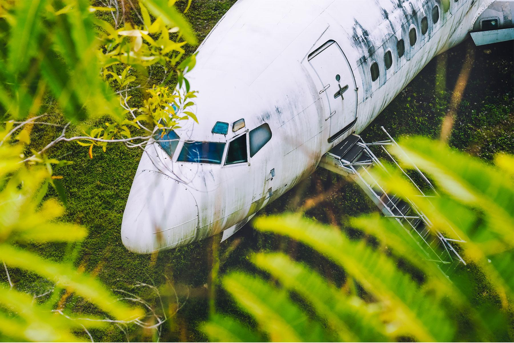 The Abandoned Planes in Bali Are Bizarre Tourist Attractions