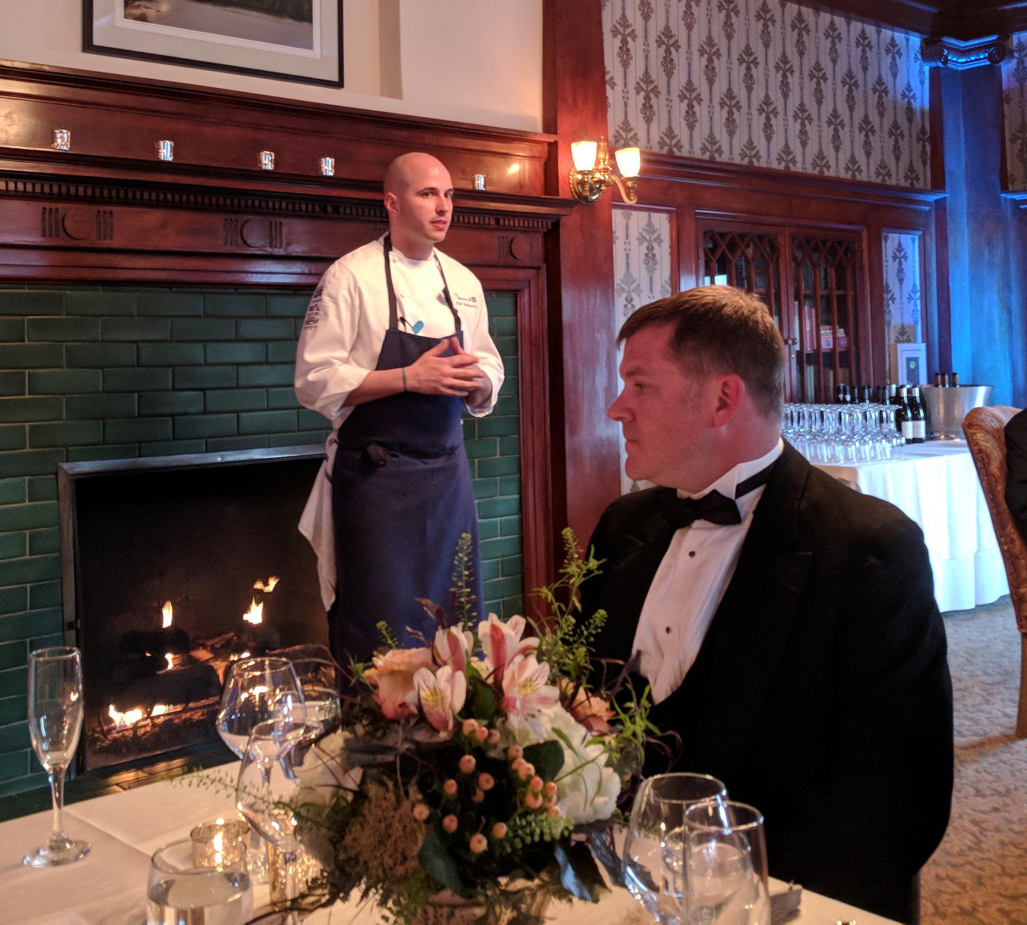 Chef Angus Small