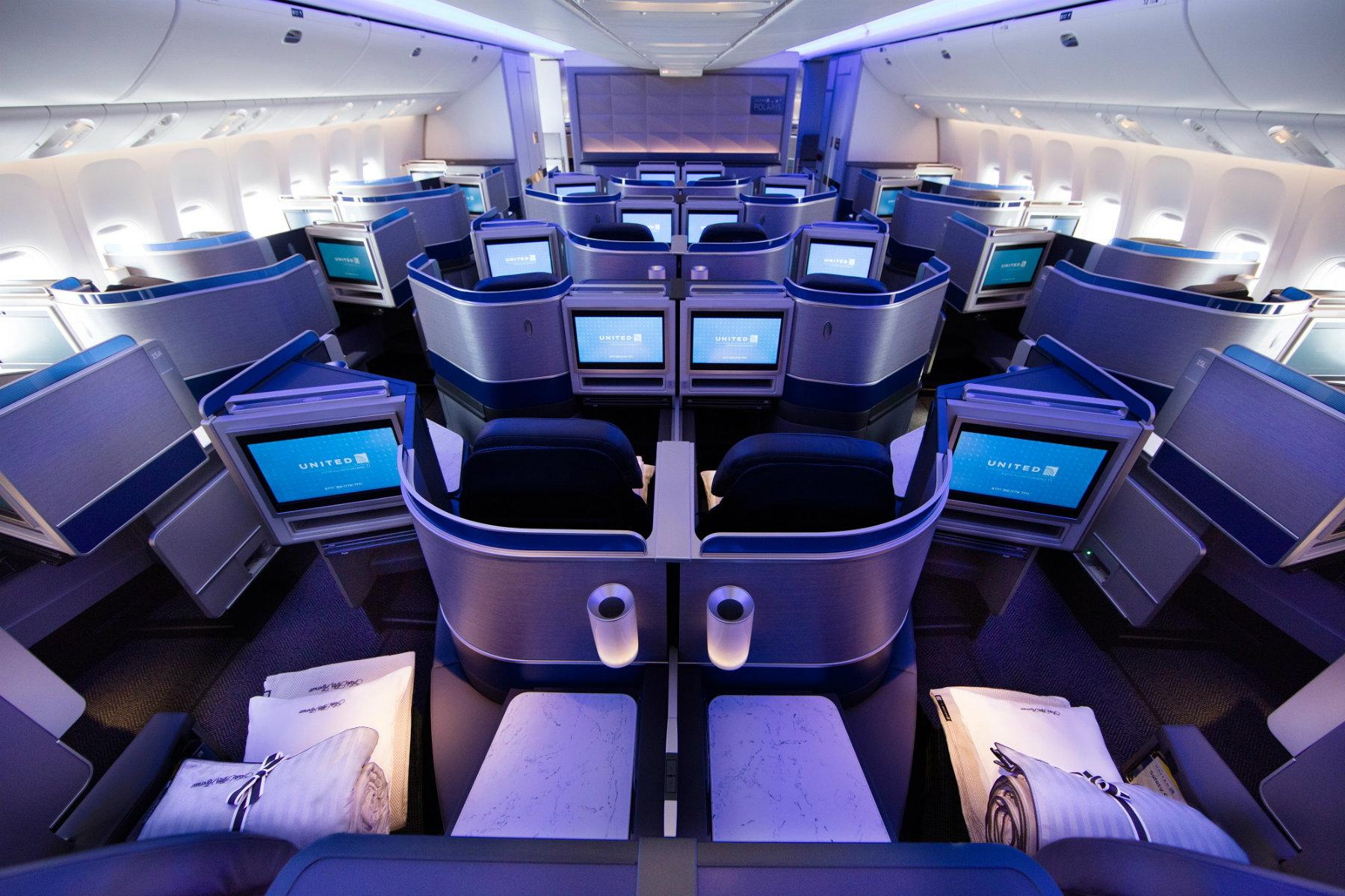 Review United Polaris Business Class To Porto And Reykjavik