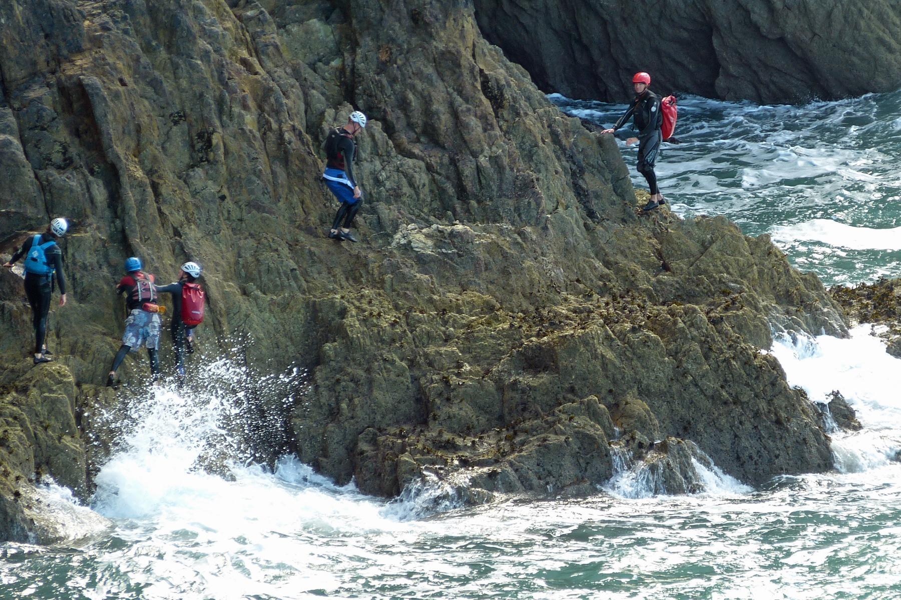coasteering 5