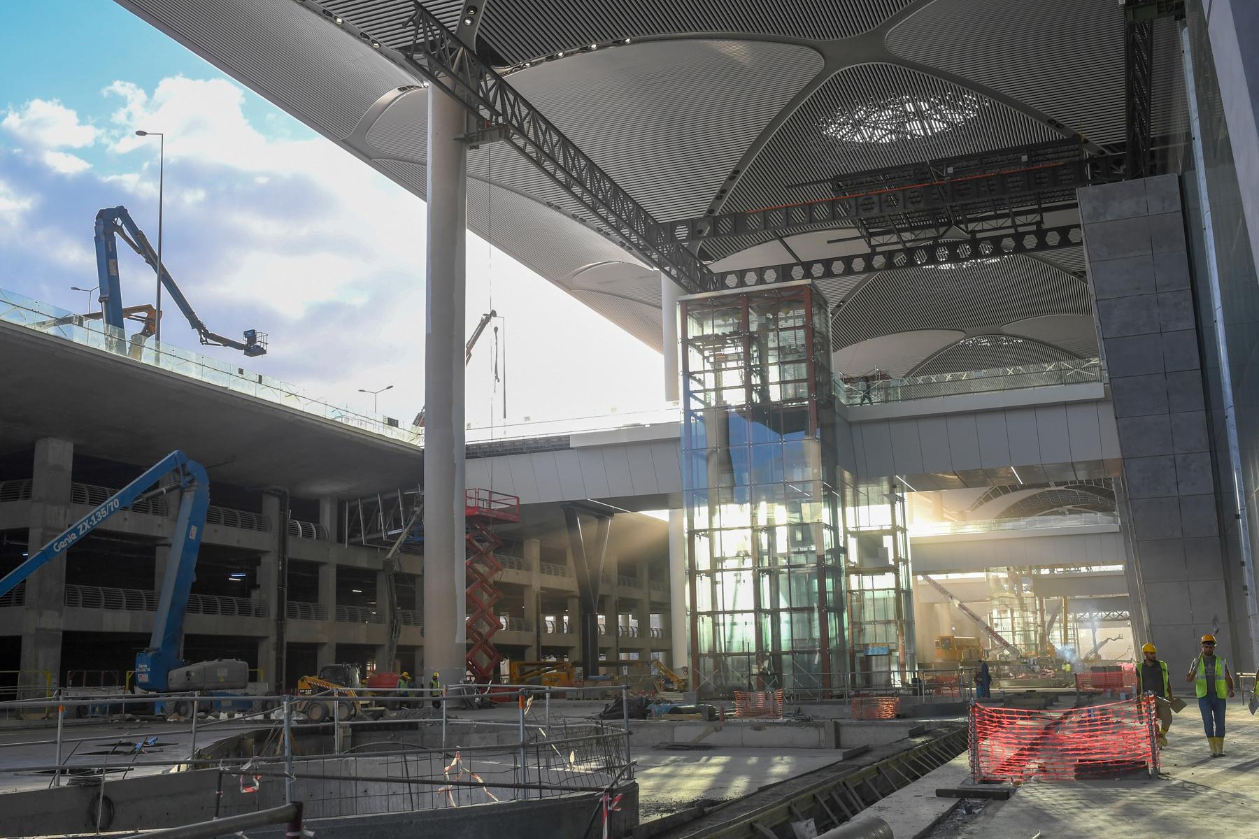 istanbul airport exterior