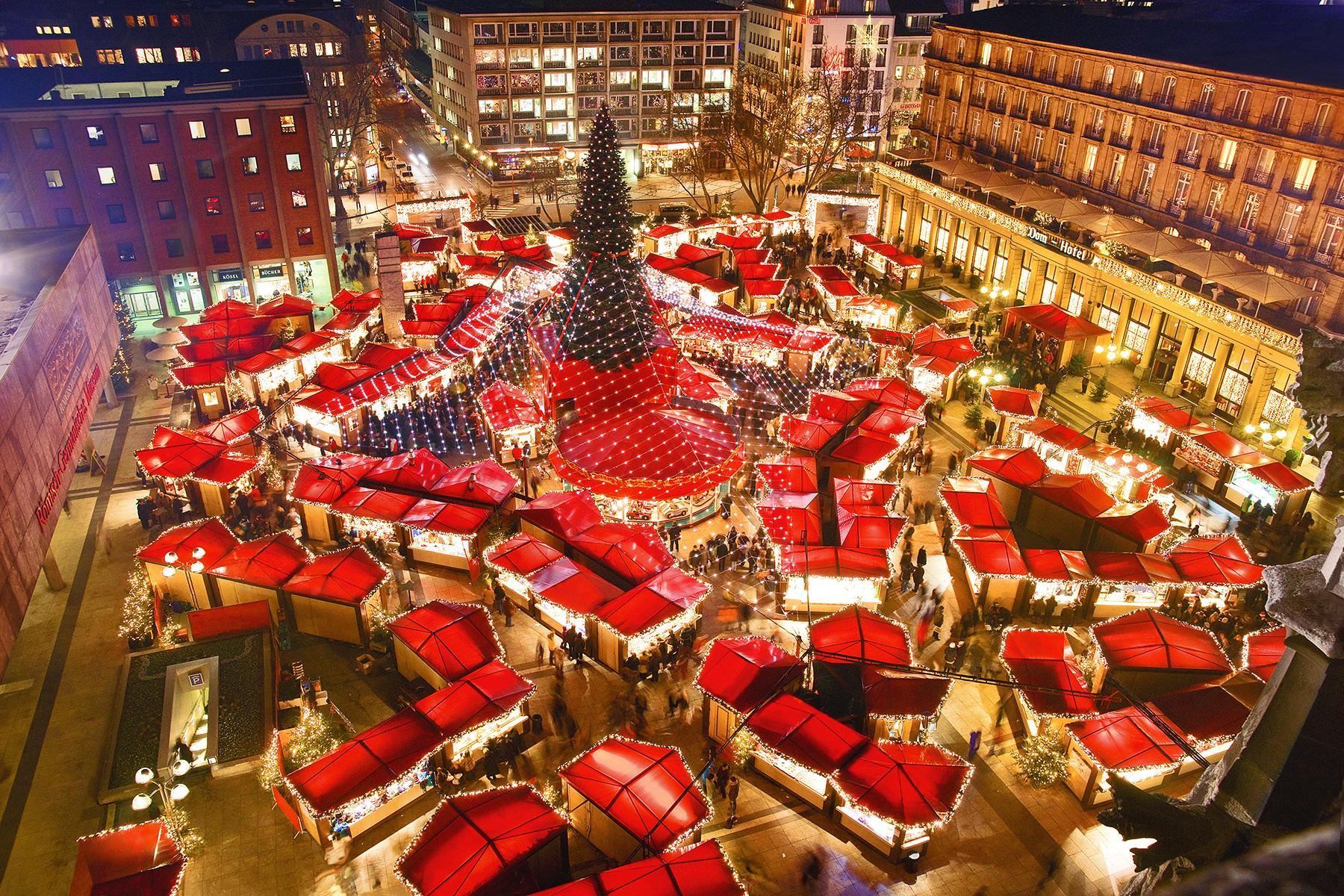 German Christmas Market.Best Christmas Markets In Germany