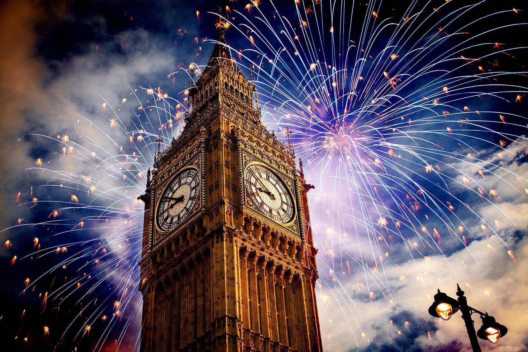 The Best New Year's Eve Firework Shows