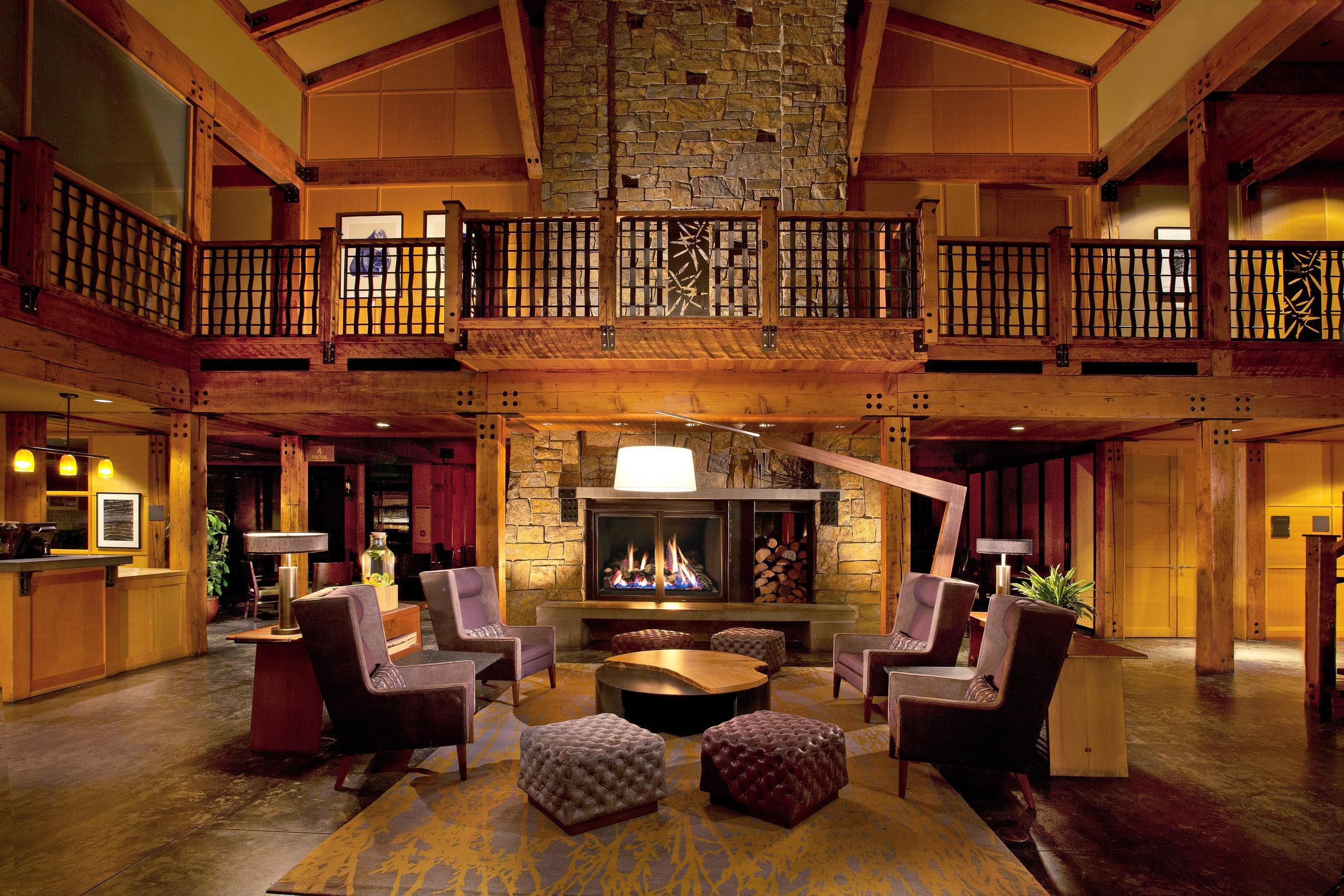 Willows Lodge Lobby
