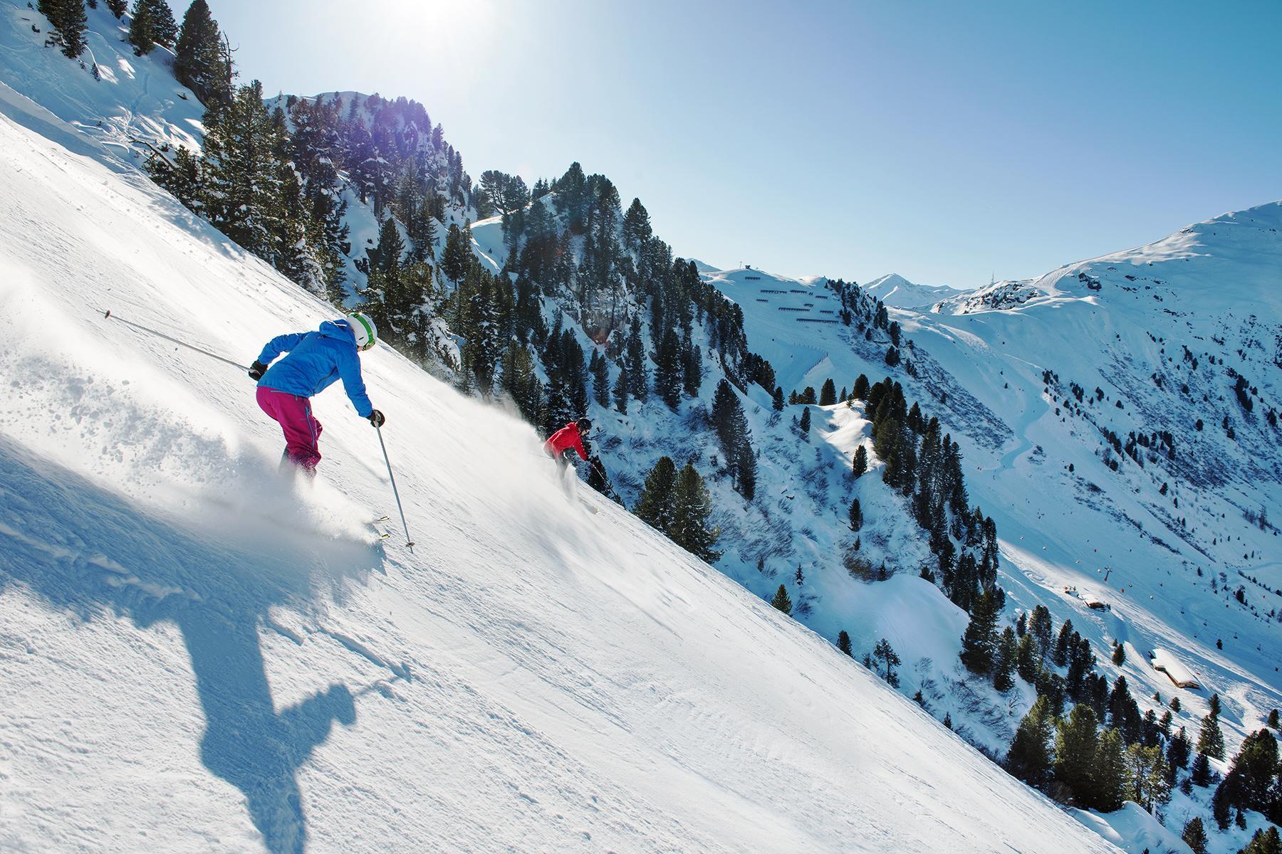 Skiabfahrt Garmisch