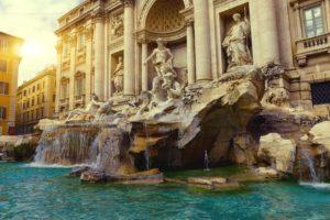 trevi fountain 1