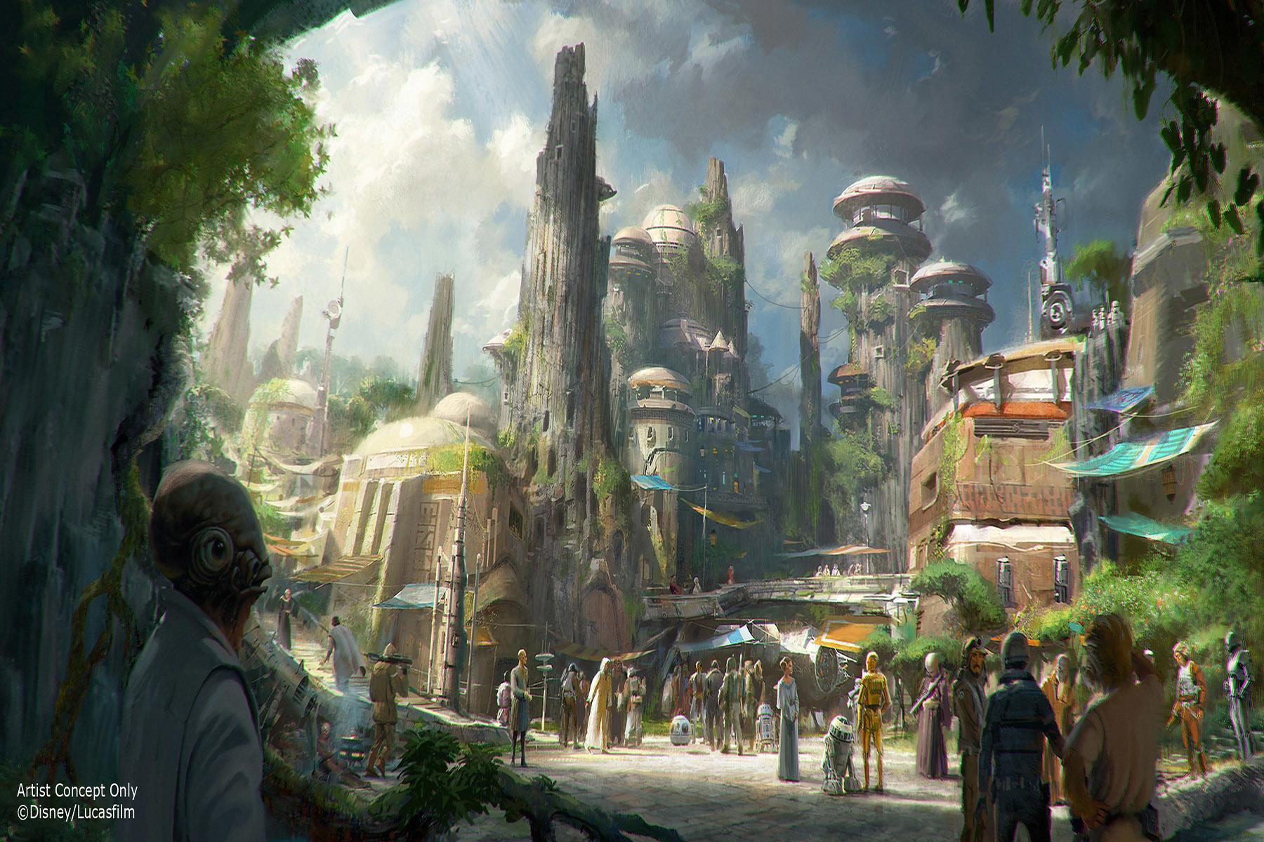 9 Things We Know About Disneyland's Upcoming Star Wars: Galaxy's Edge