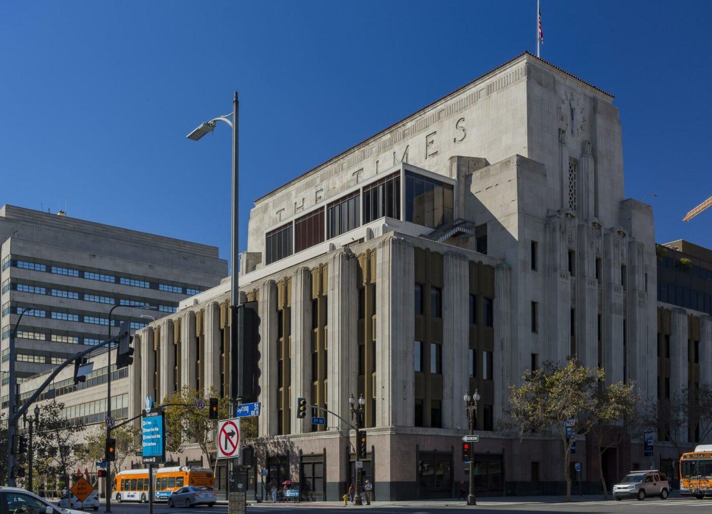 Los Angeles Times Building Historic Core LA