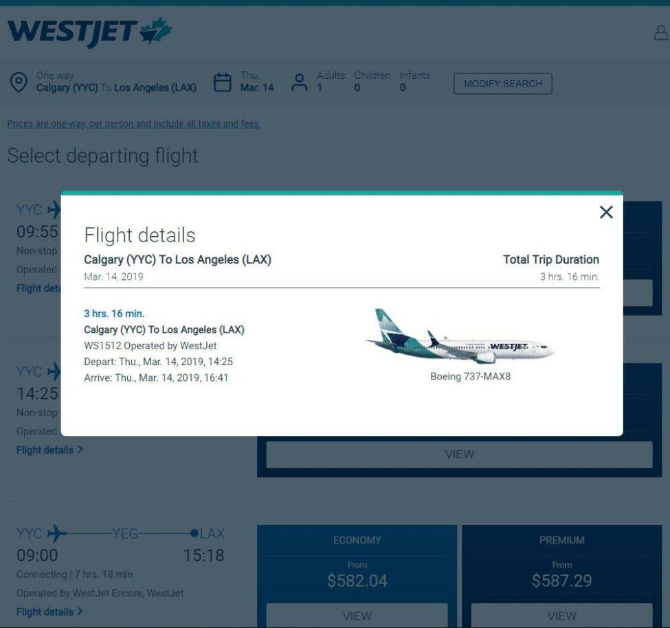 Westjet-737-MAX8