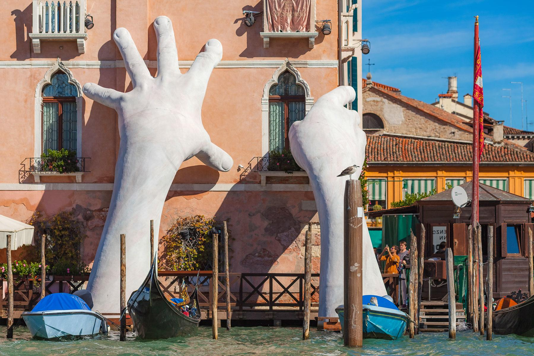 Can You Even Handle These Gigantic Hand Statues of the World