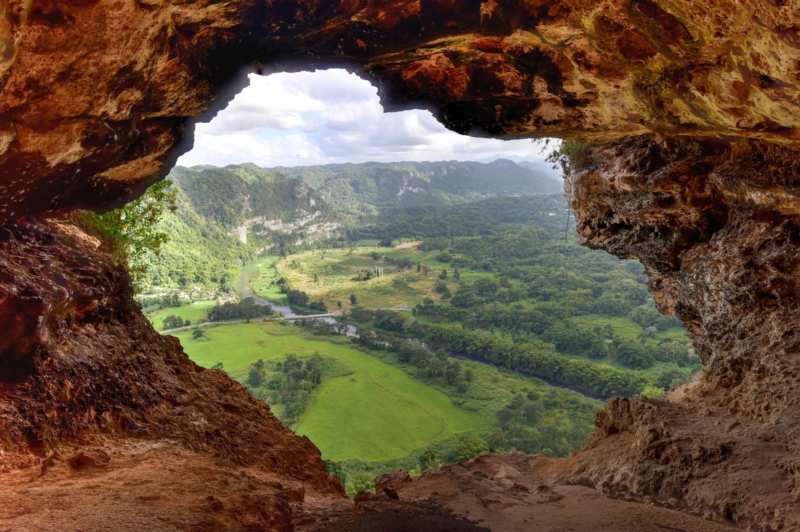Window Cave in Arecibo