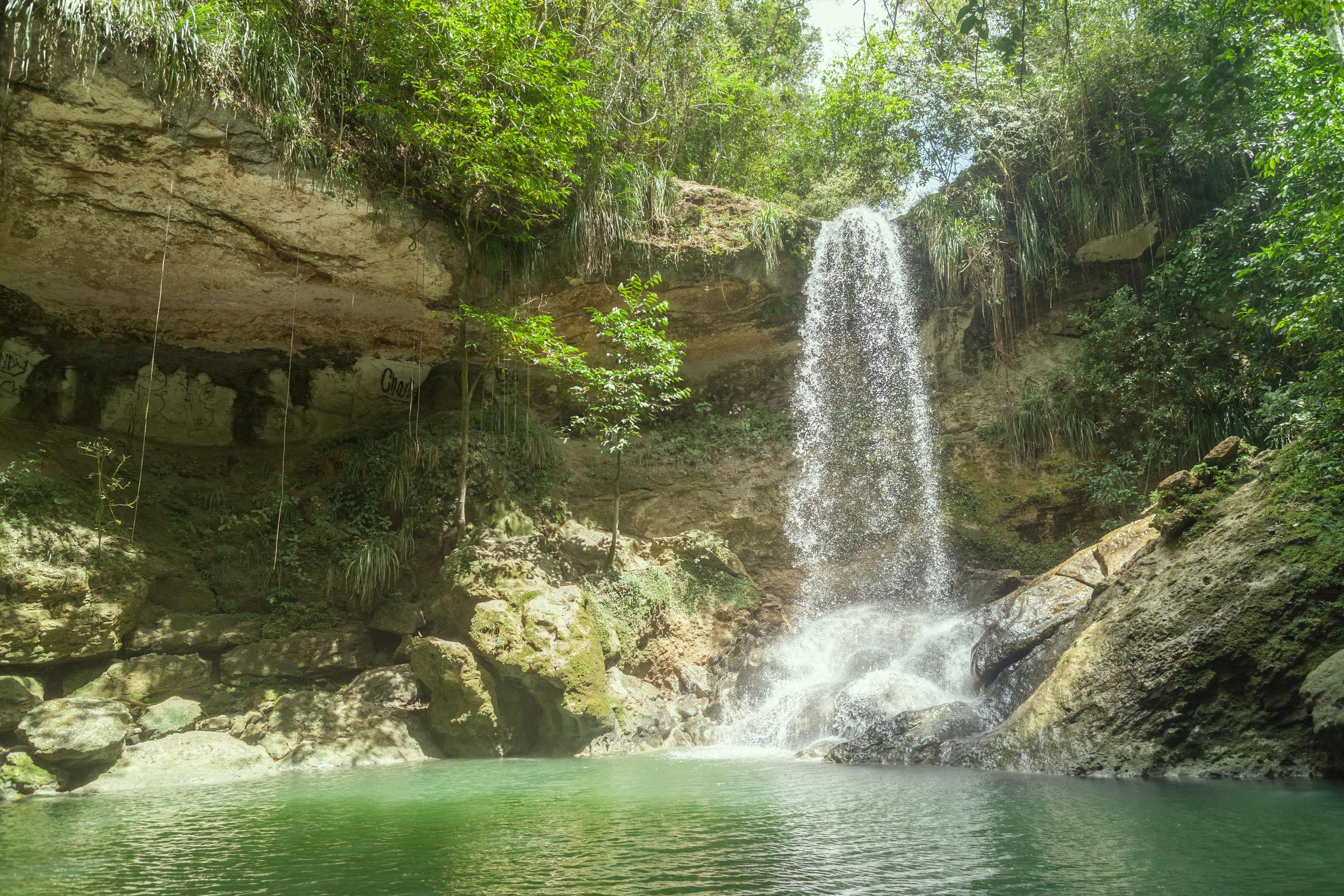 Waterfall in Gozalandia