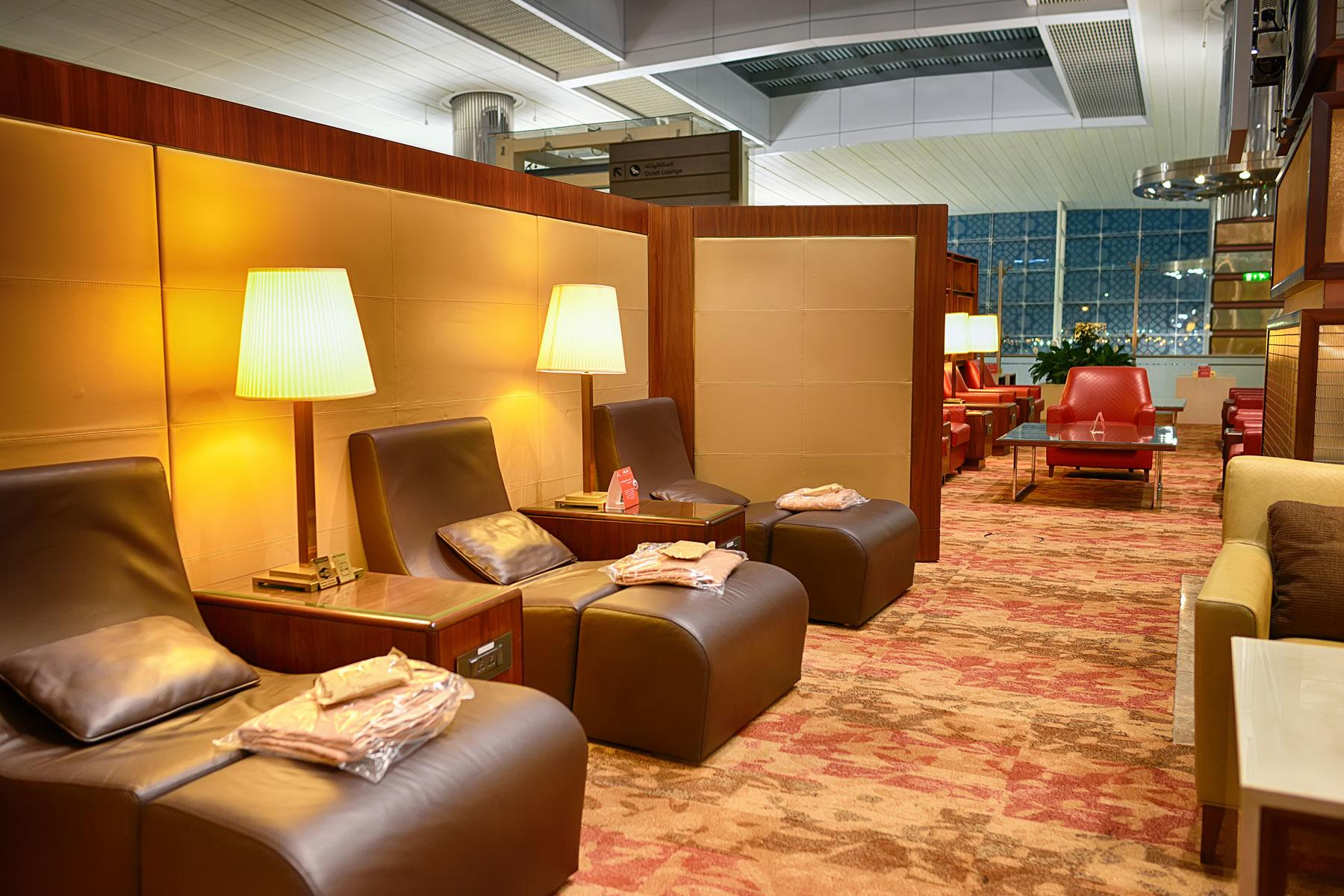 Emirates Lounge, Dubai International Airport