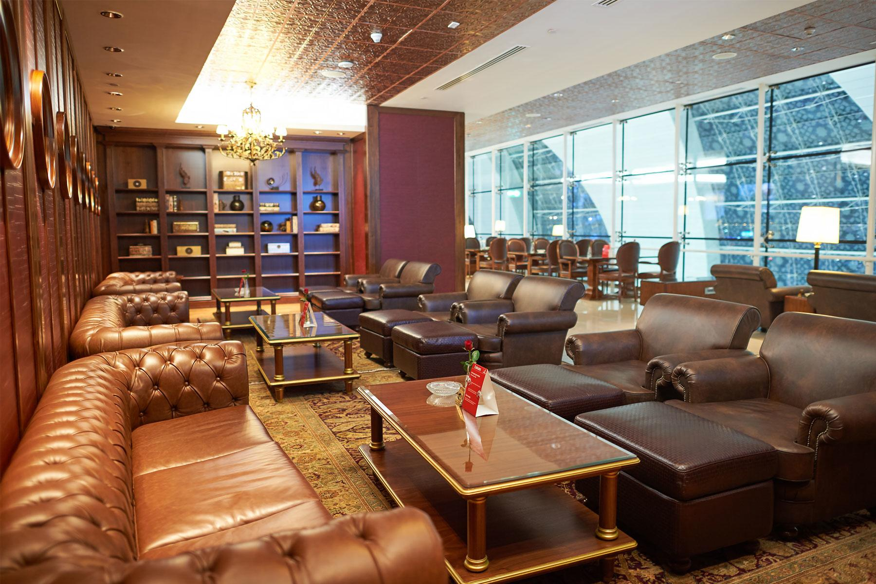Emirates first class lounge, Dubai International Airport
