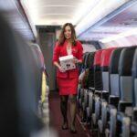 nice flight attendant