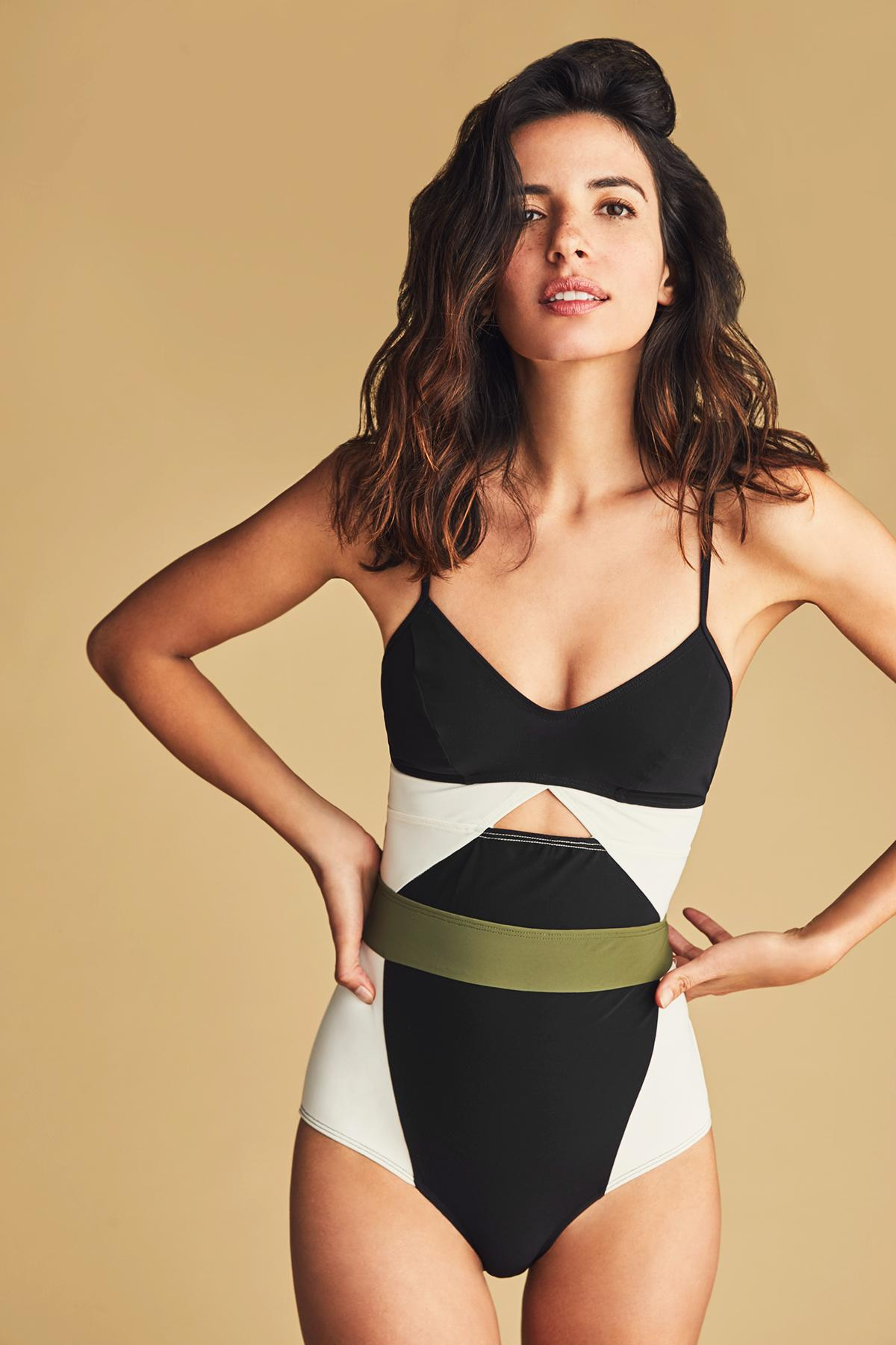351ba4414ee This Bathing Suit Inspired by a Leotard
