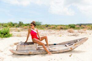 14 Super Stylish yet Modest Bathing Suits for Travel