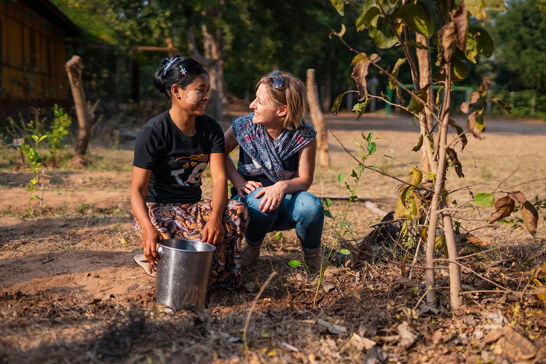 The Intrepid Foundation-Myanmar__CBT_activities_tree_planting