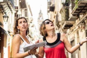 angry tourists