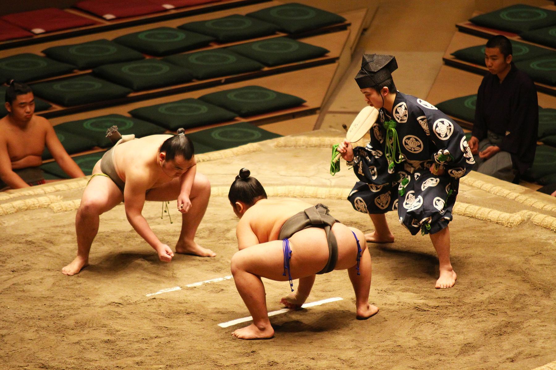 Анекдот: Только сумоисты и шахматисты жертвуют своей…