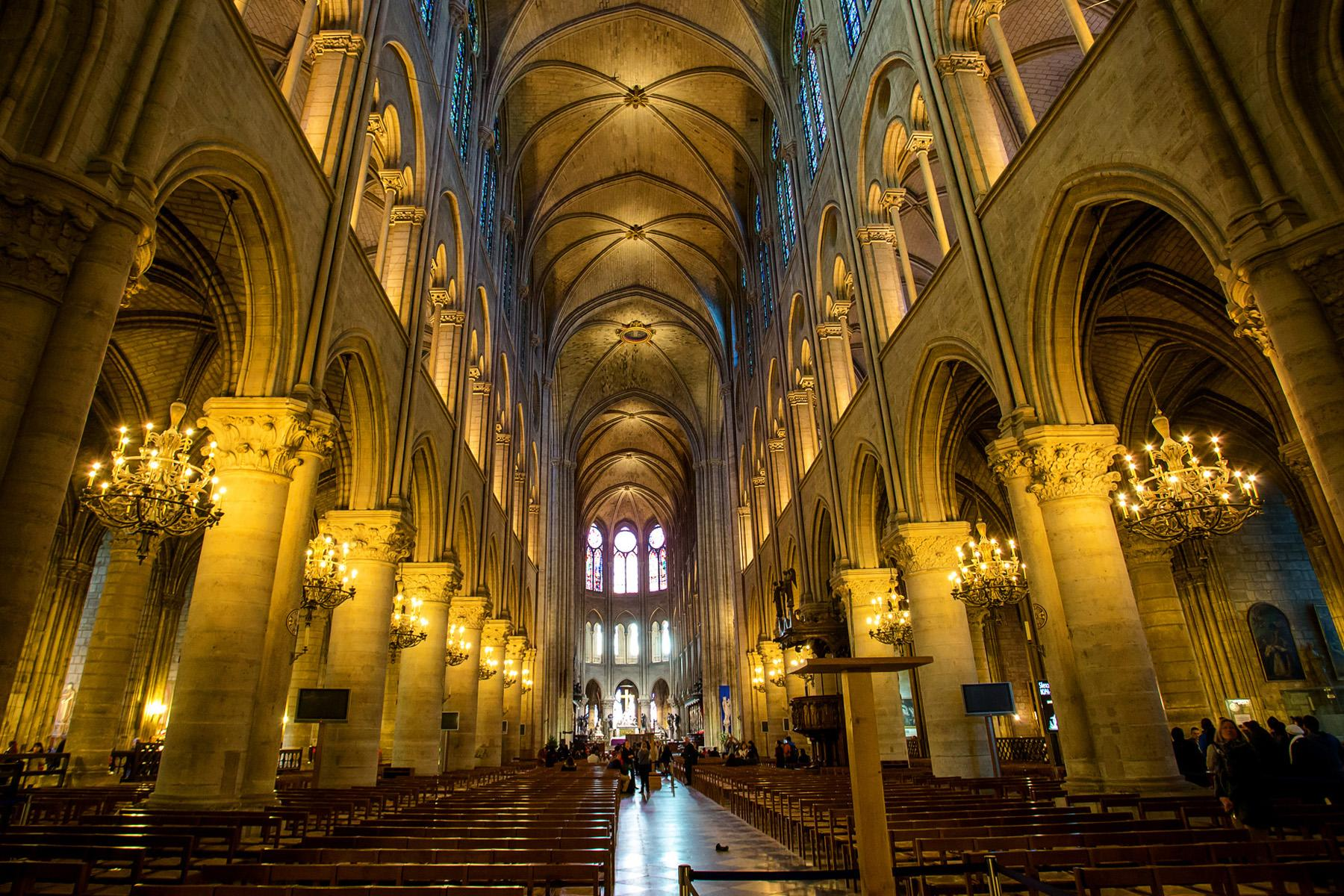Notre Dame Cathedral Rebuilt With New Design
