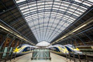 _HERO Eurostar trains in London St. Pancras Station, Great Britain-original