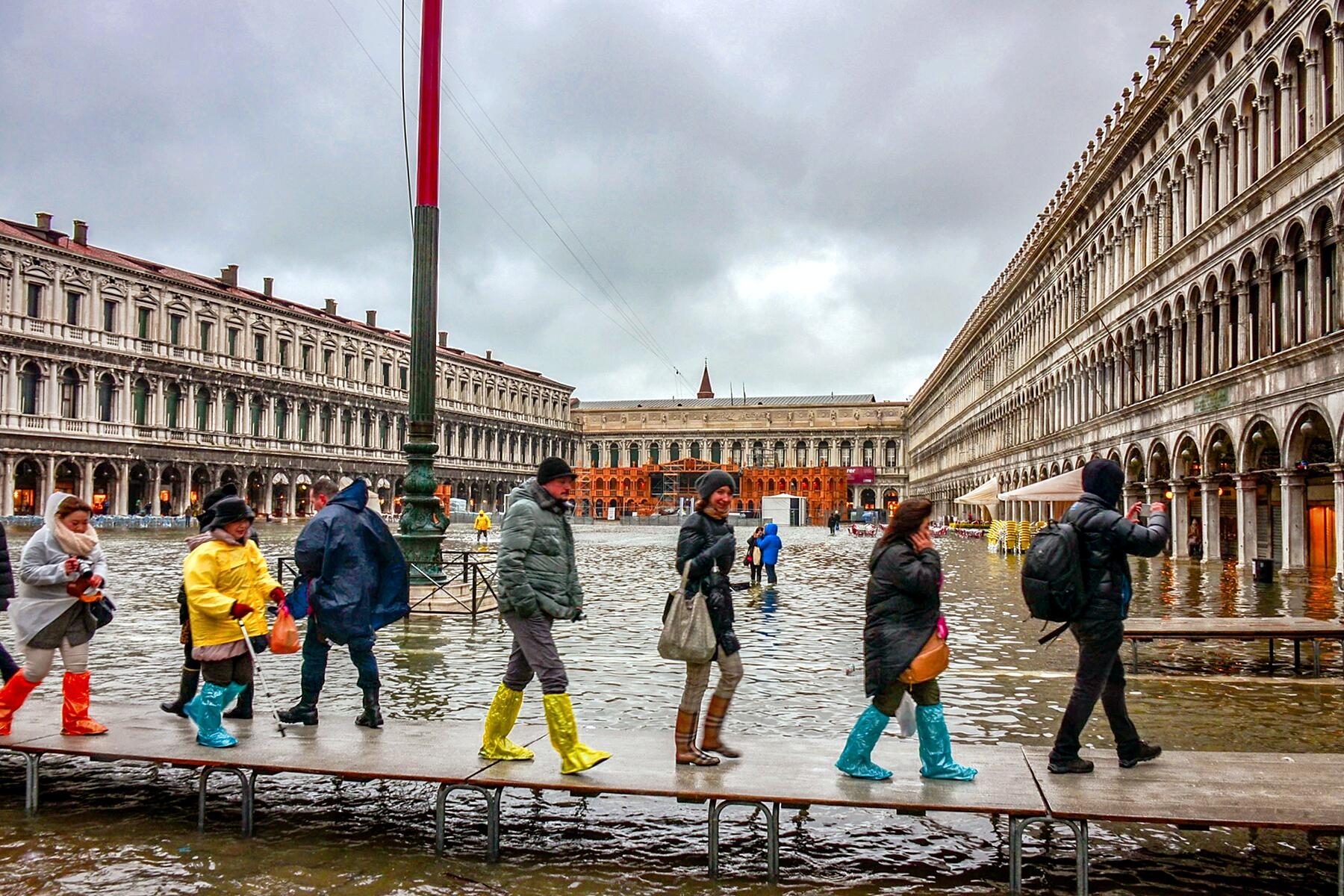 What to Do During High Tide Acqua Alta Season in Venice, Italy