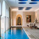11_Asia__OberoiAmarvillas_11.) Swimming Pool at The Oberoi Amarvilas, Agra