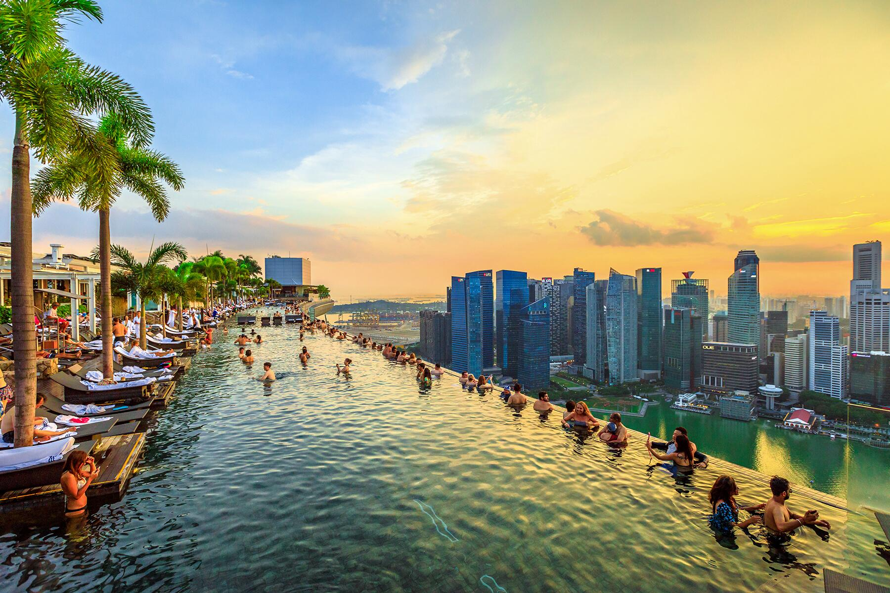 10 Best Hotel Pools in Singapore