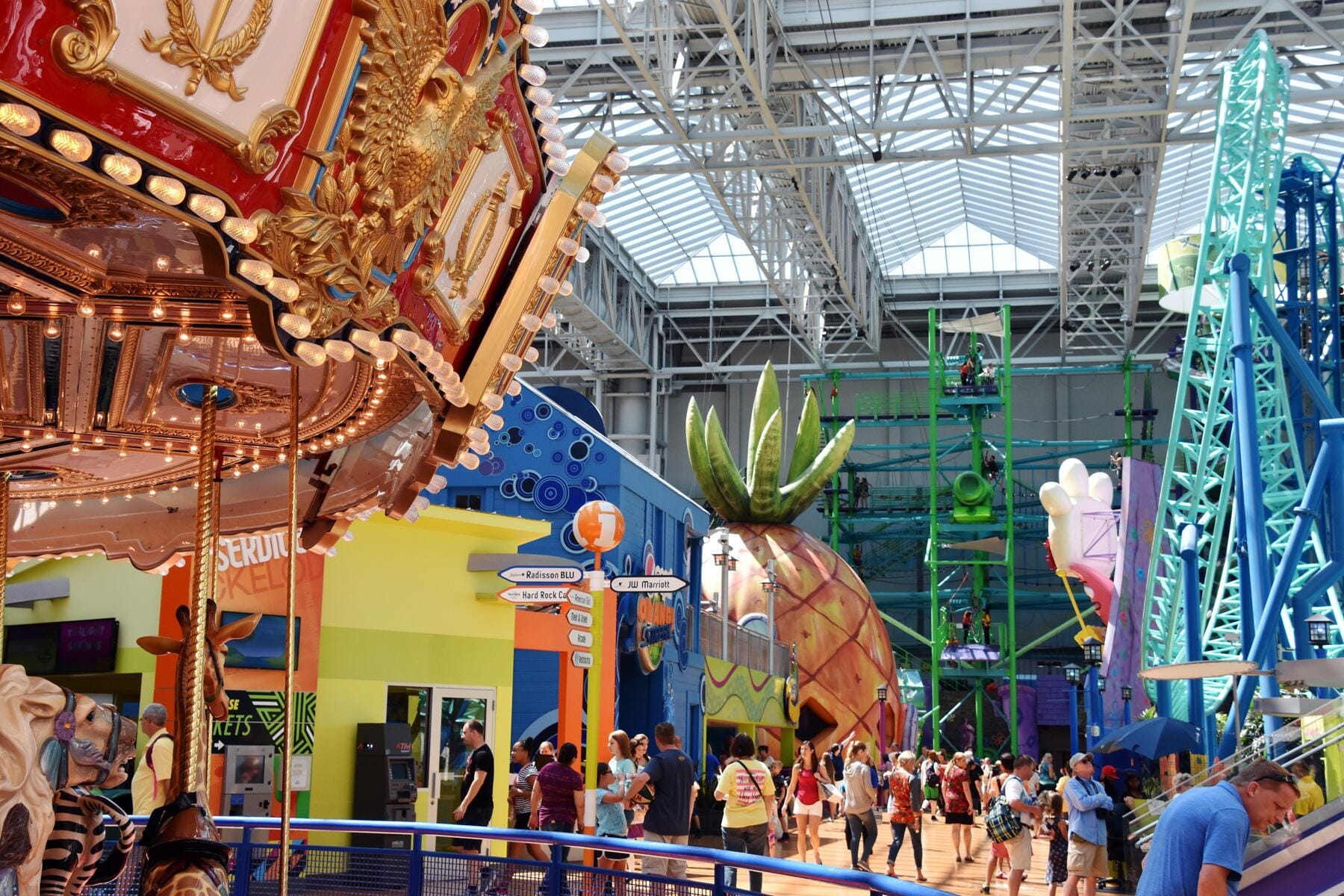America's Biggest Indoor Theme Park to Open Inside This Wildly Over-The-Top Mall