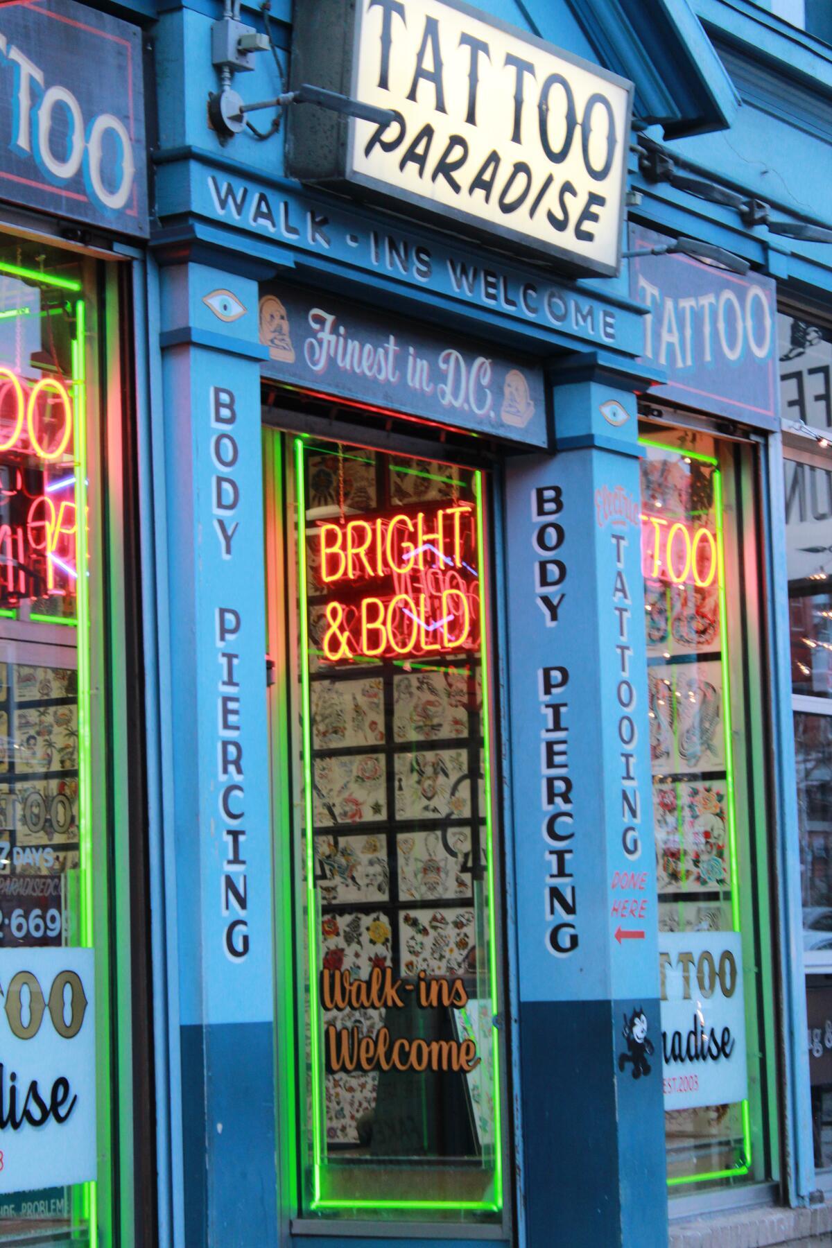 Tattoo Shop (generic) RR