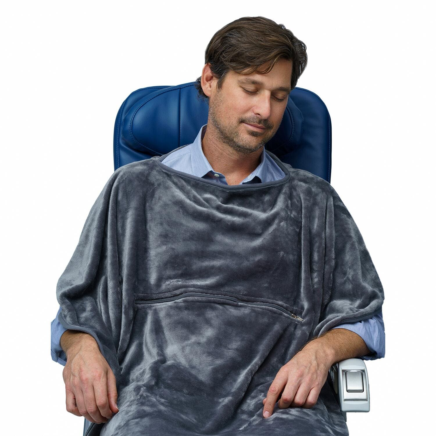 11_HowtoSanitizewhileFlyin__TravelBlanket_11.) Grey Blanket 5 (1)