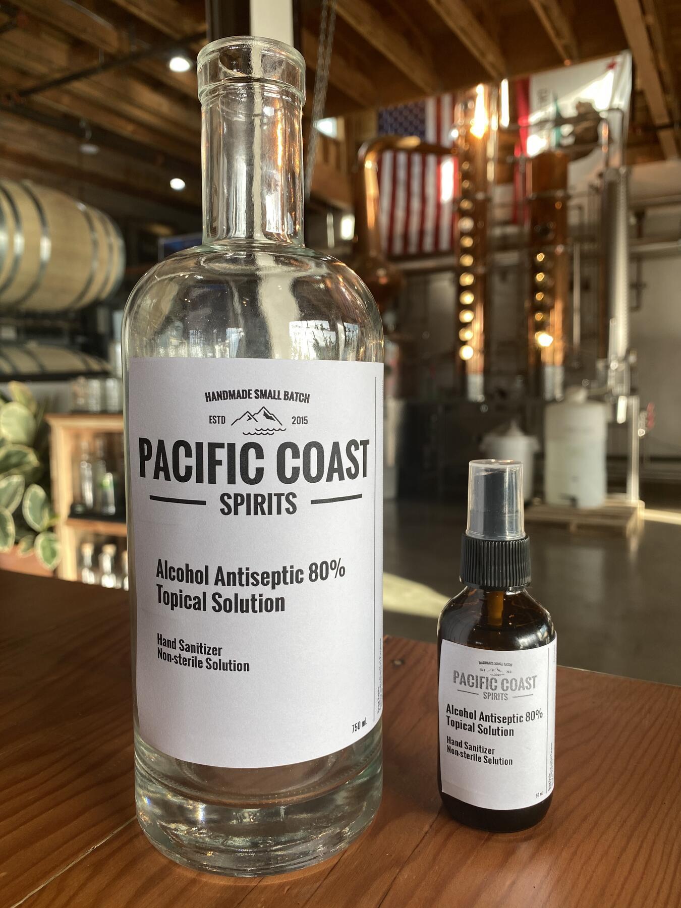 pacific coast spirits