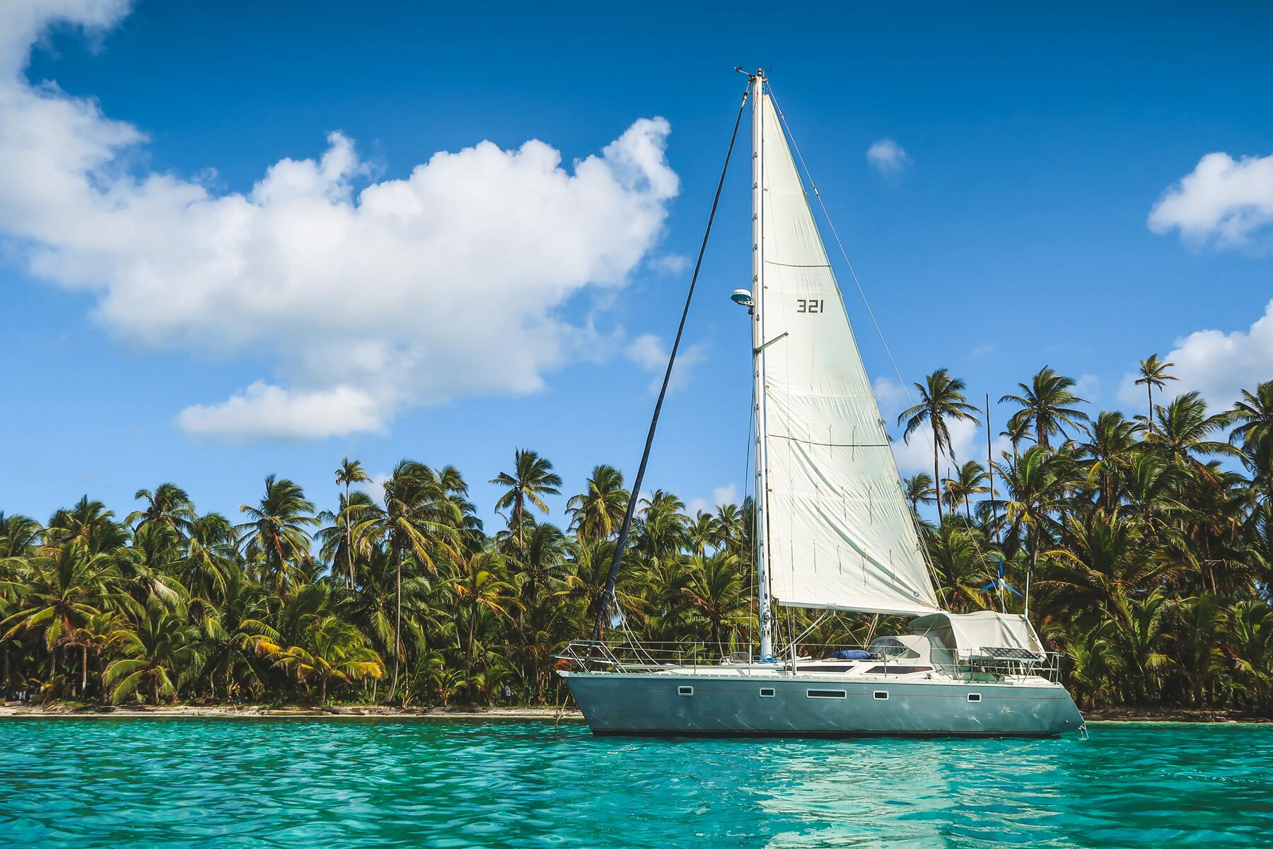 What It S Like To Be Quarantined On A Yacht In The Caribbean City mountains dock sail boat yacht