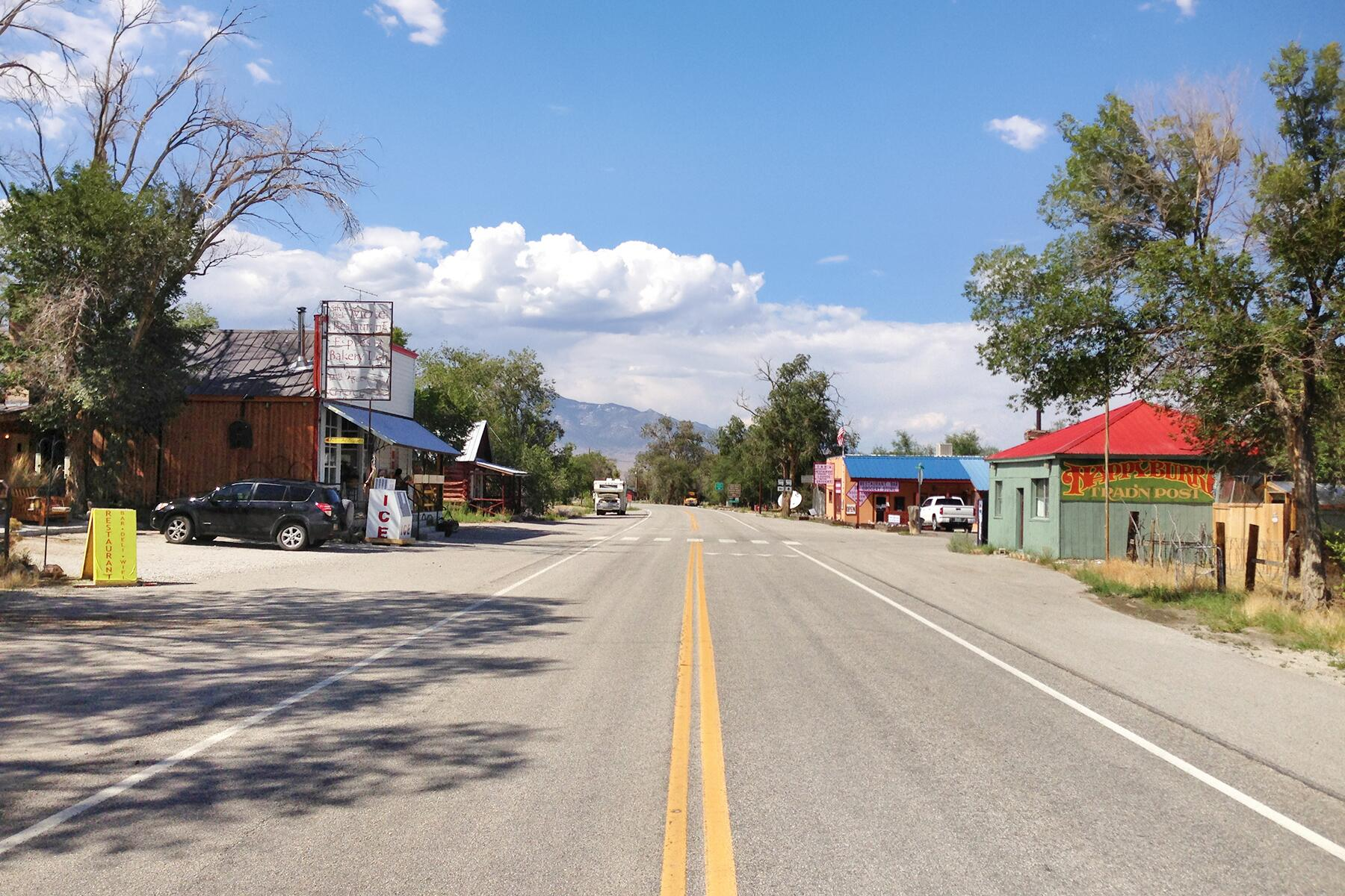 Austin to Baker, Nevada