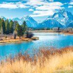 Jackson to Yellowstone National Park, Wyoming