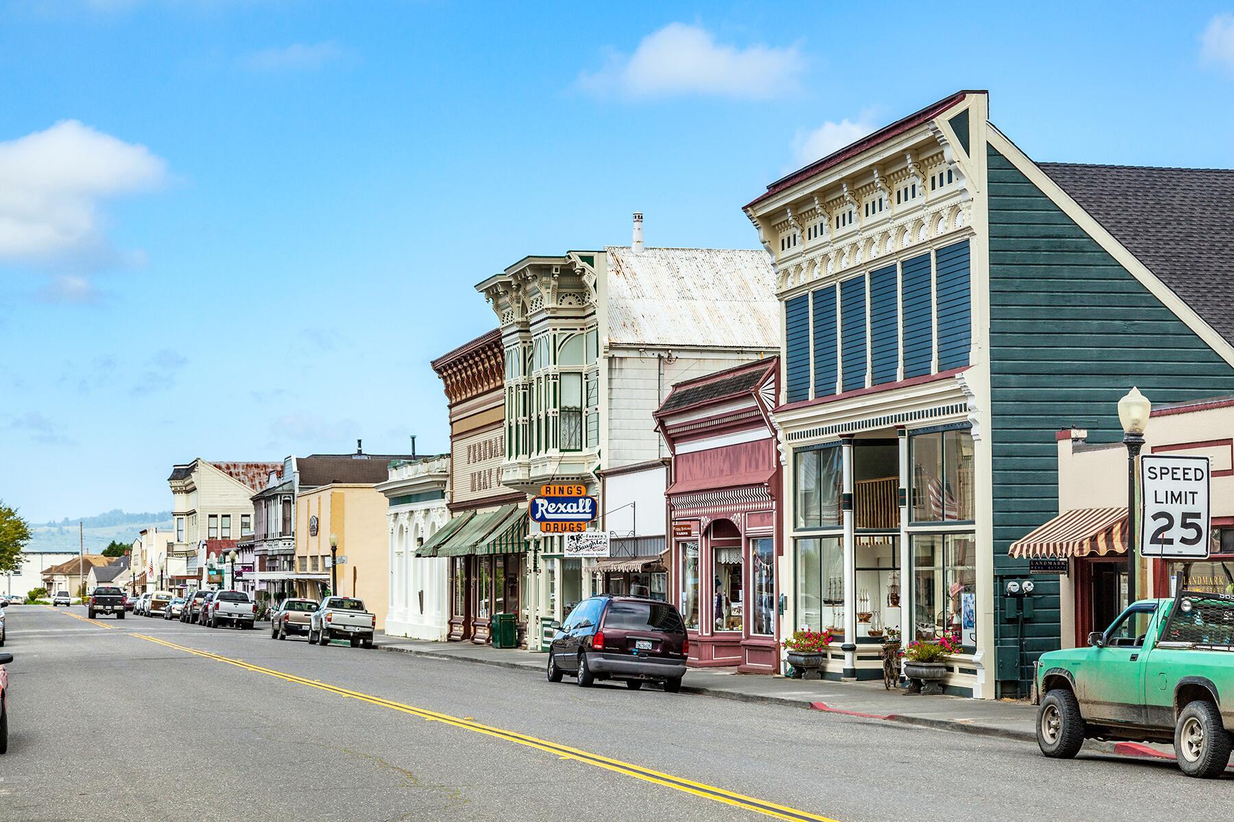 Mendocino to Eureka, California
