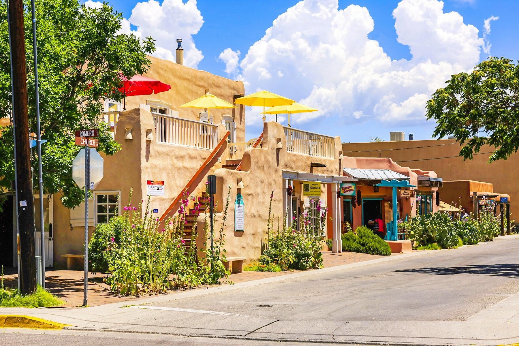 Taos to Albuquerque, New Mexico