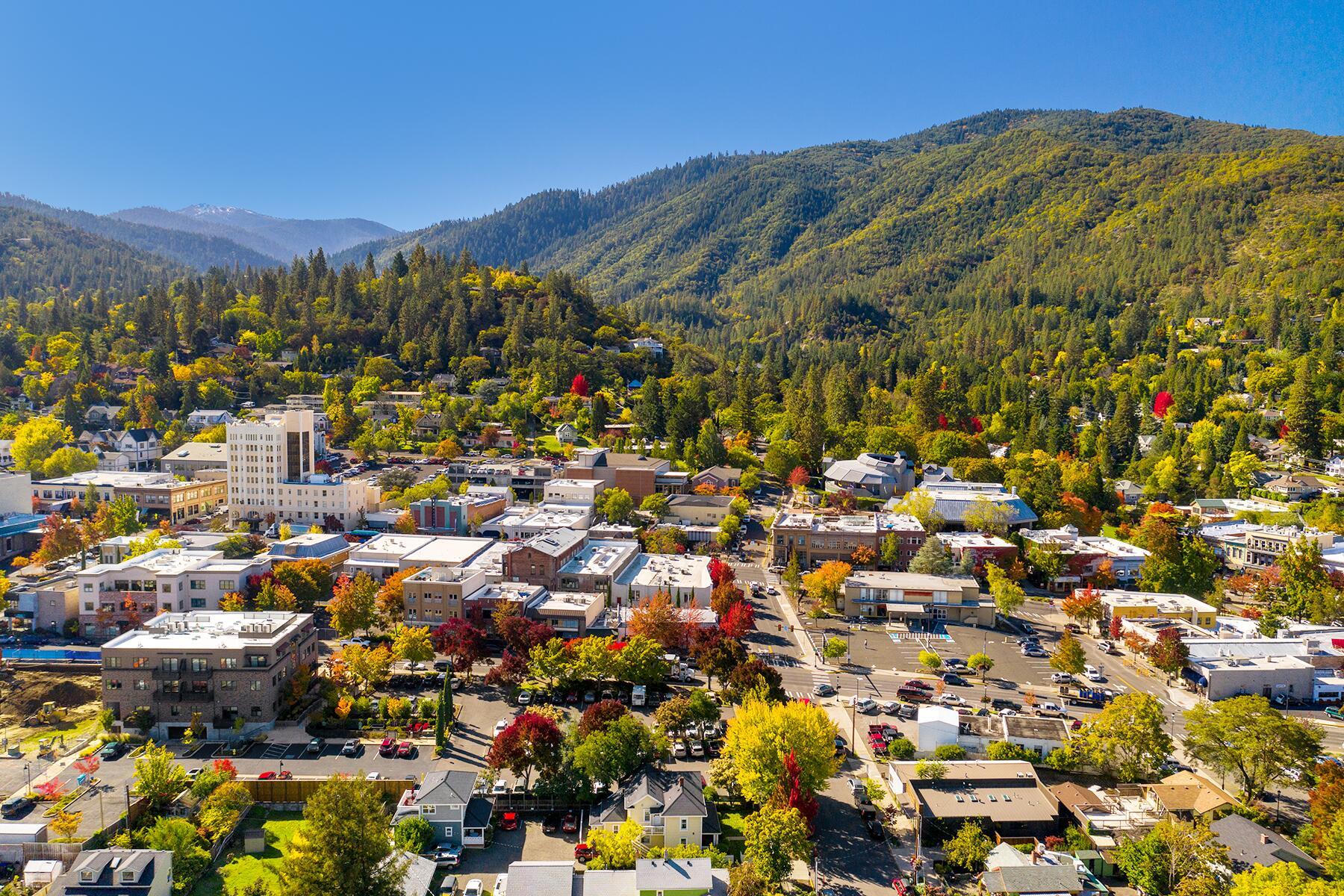 Portland to Ashland, Oregon