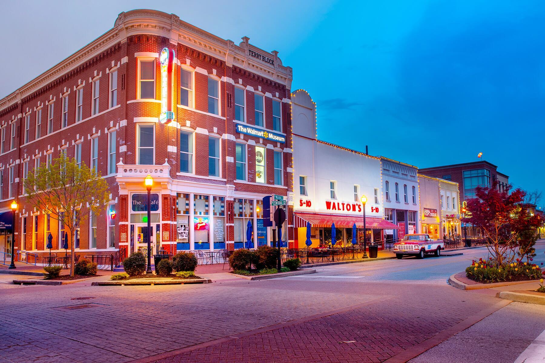 Little Rock to Bentonville, Arkansas