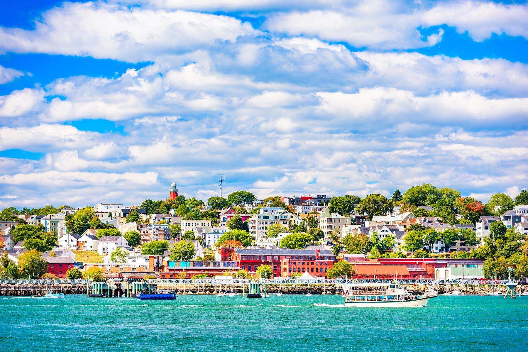 Boston to Portland, Maine