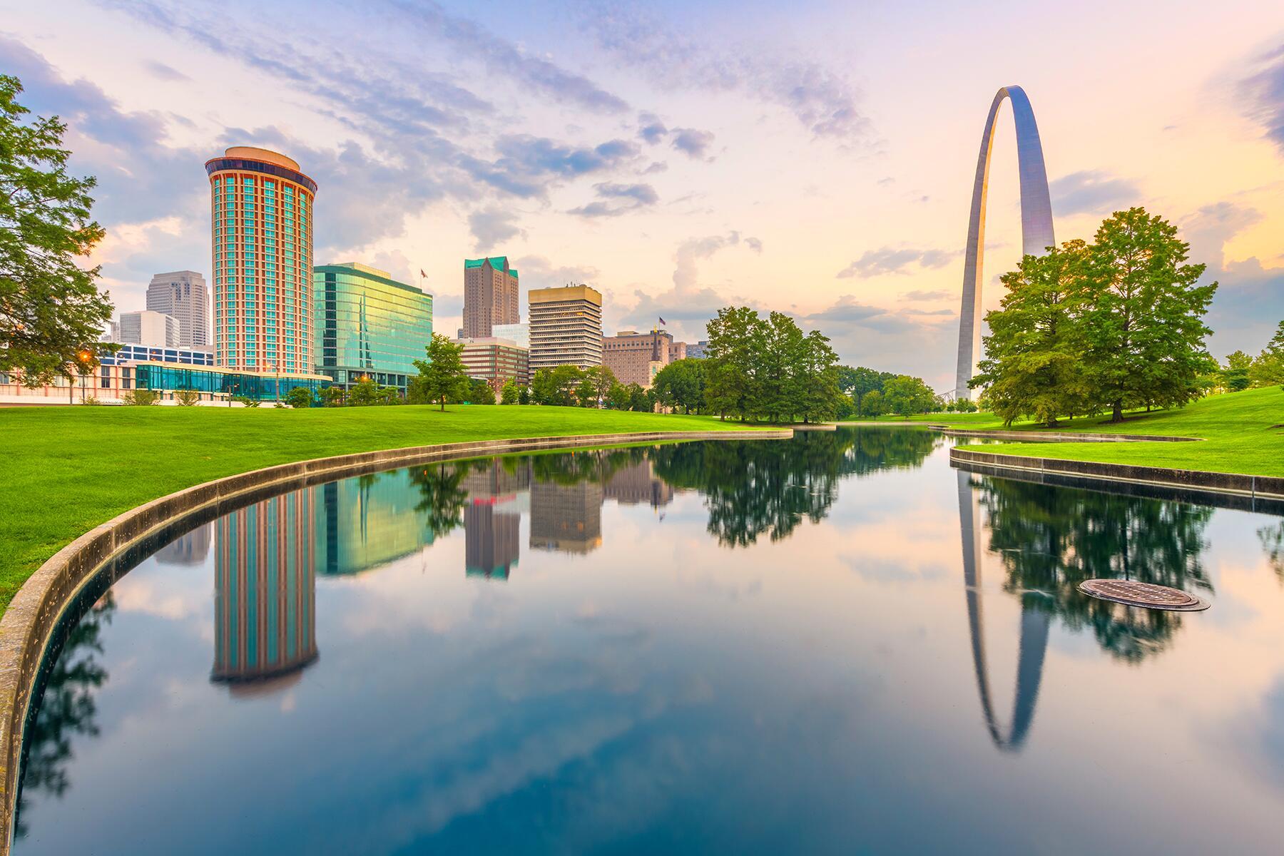 Louisville to St. Louis, Missouri