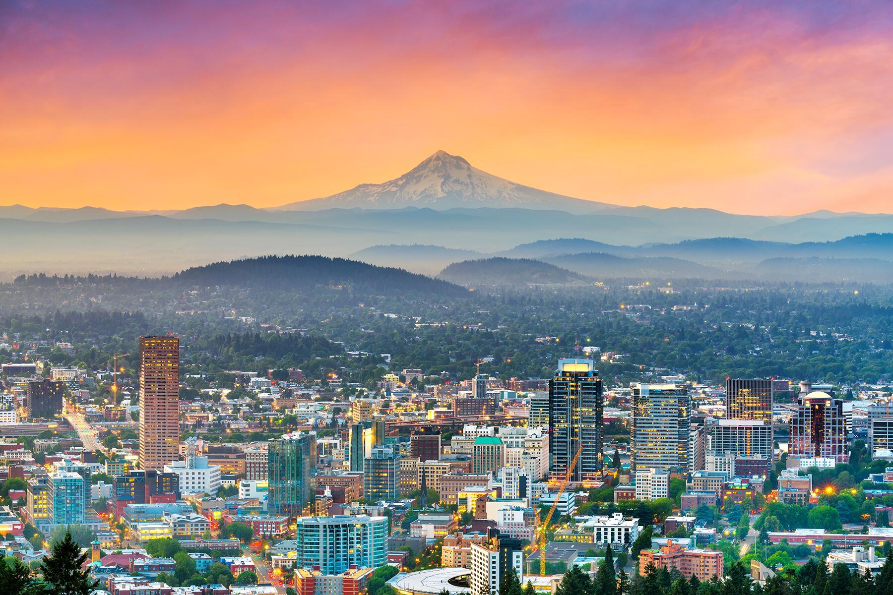 Port Angeles to Portland, Oregon