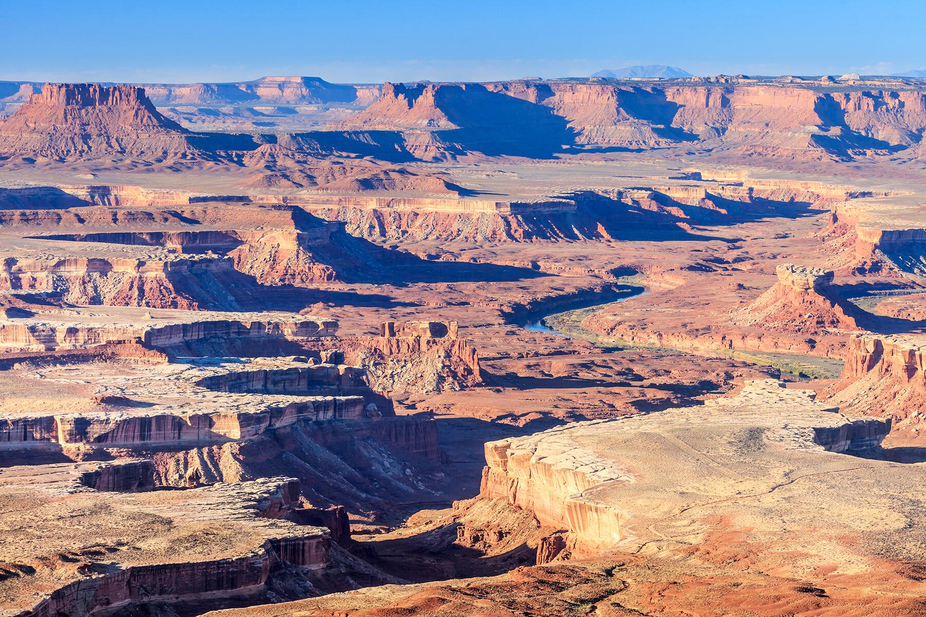 Arches National Park to Canyonlands National Park: Island in the Sky, Utah