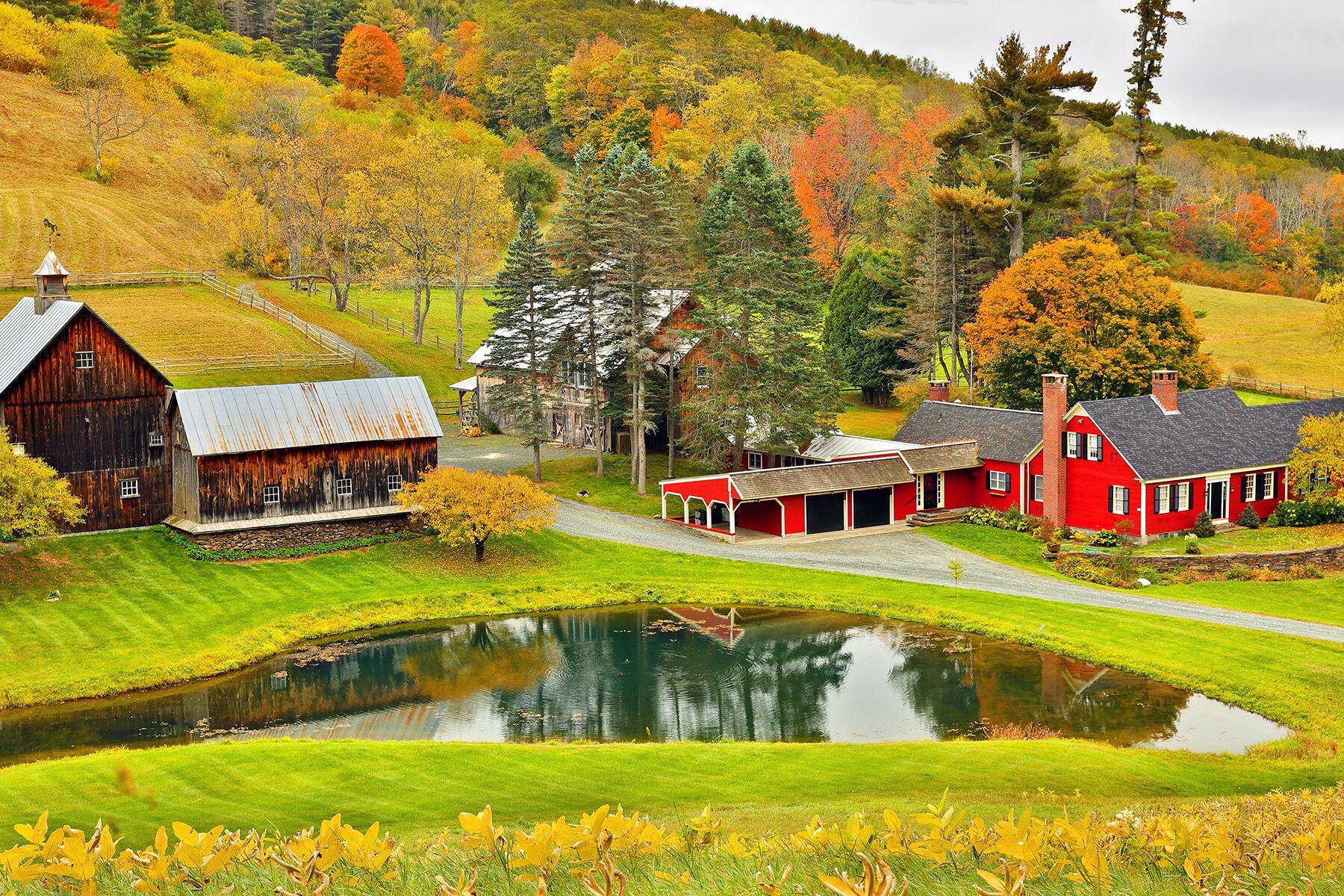 Conway to Woodstock, Vermont