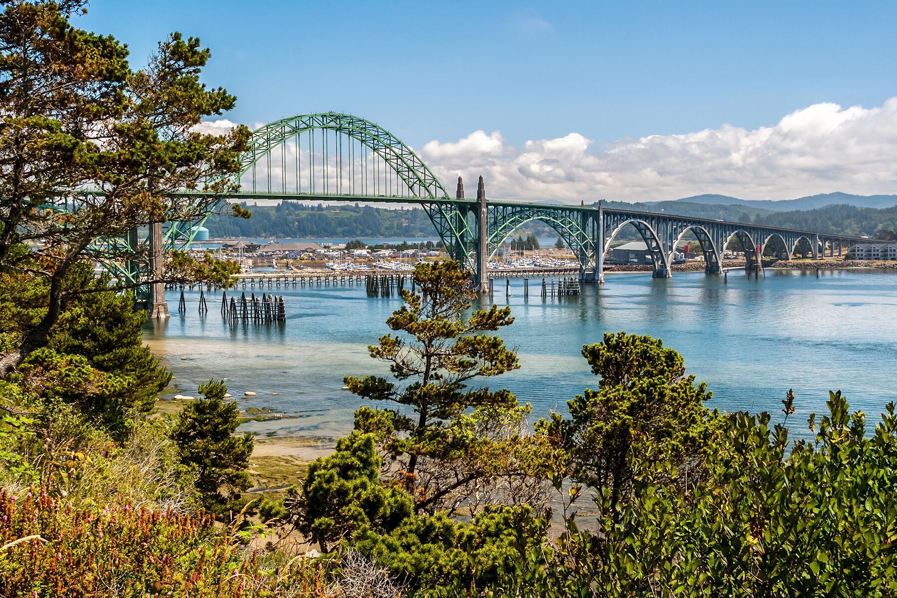Portland to Newport, Oregon