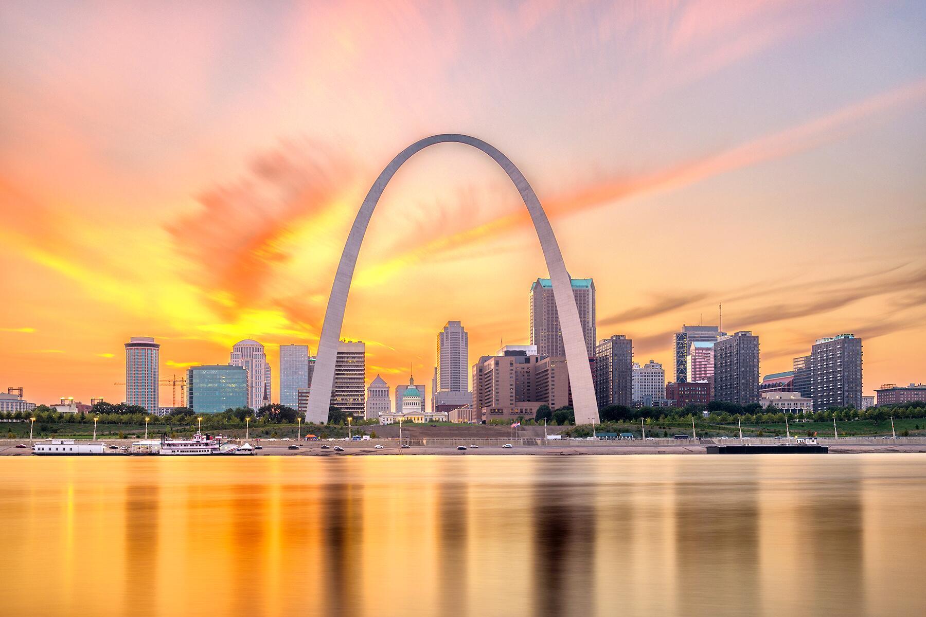 Branson to St. Louis, Missouri