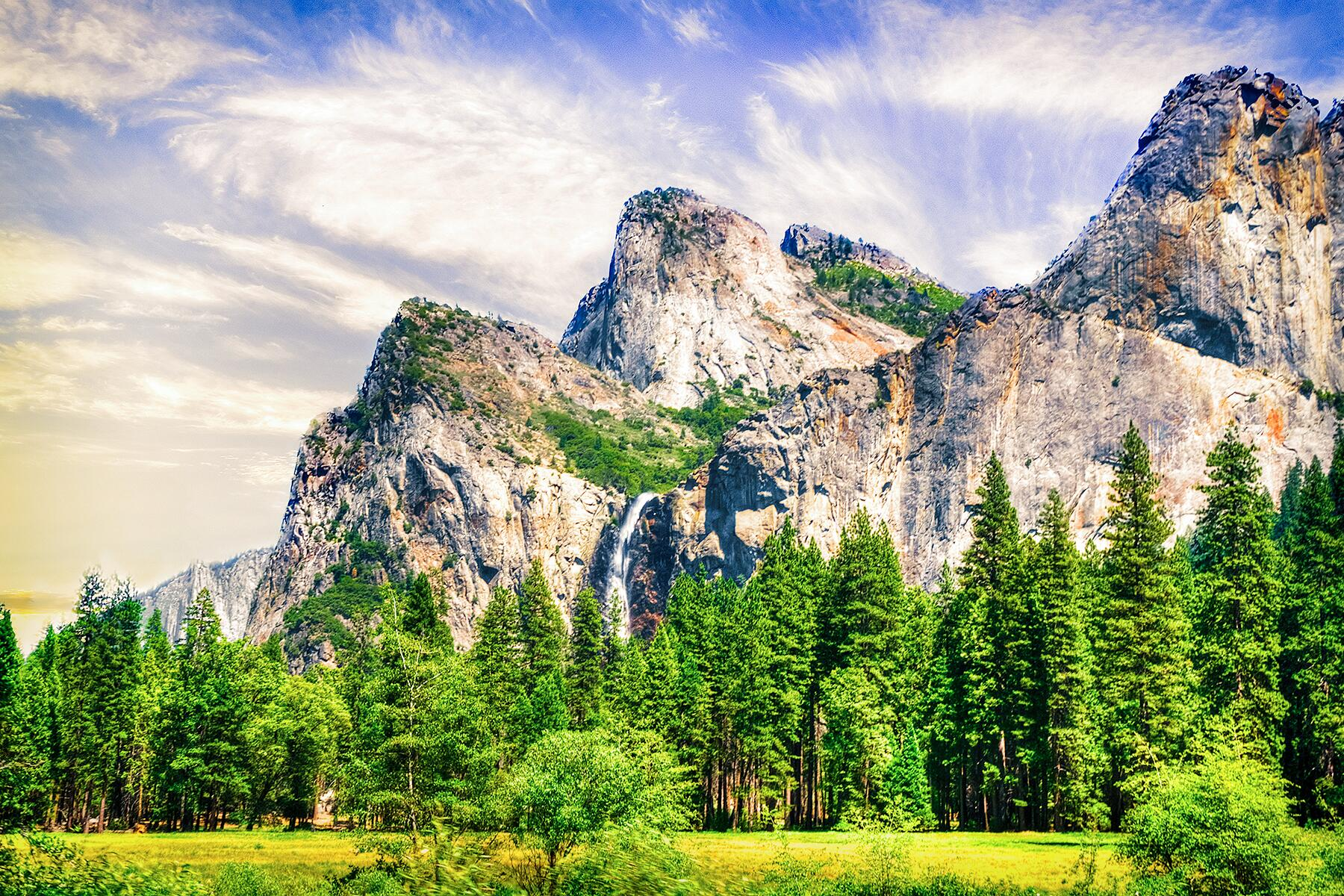 Kings Canyon to Yosemite National Park, California