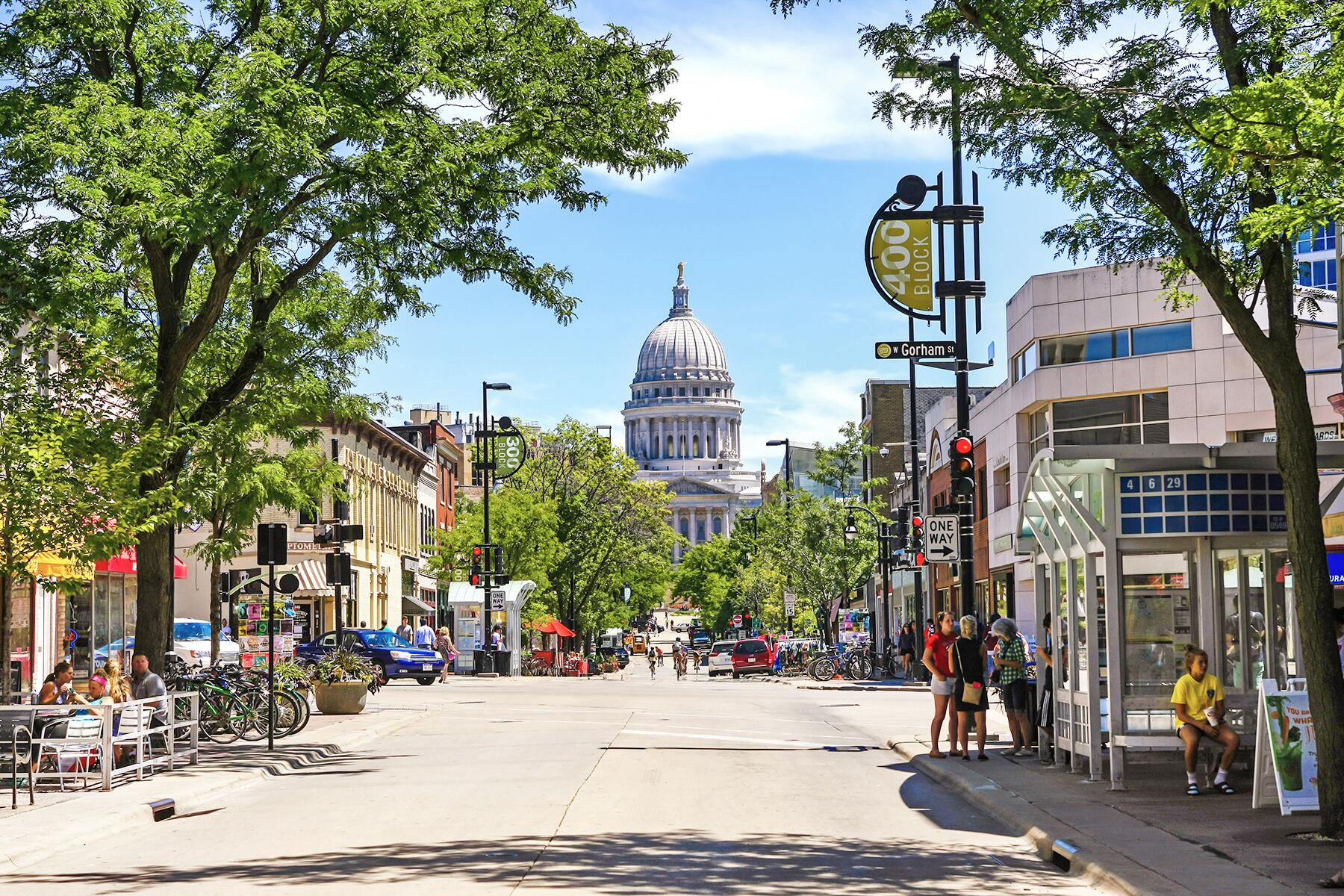 Iowa City to Madison, Wisconsin