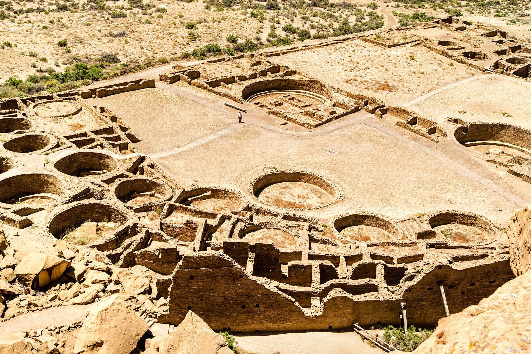 Albuquerque to Chaco Culture National Historical Park, New Mexico